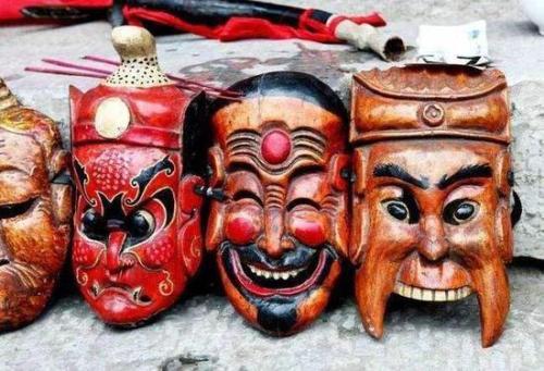 萍乡湘东傩面具