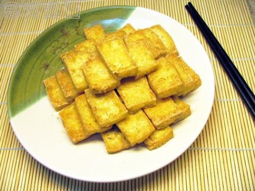 椒盐老豆腐