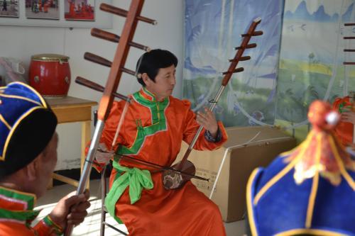 蒙古族四胡音乐