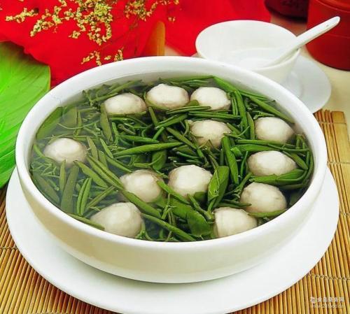 太湖莼菜汤
