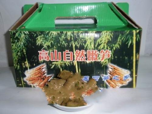 雪菜汁味咸笋